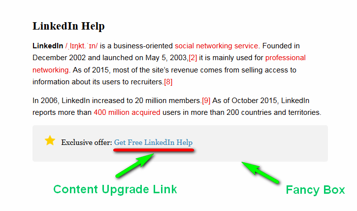 content upgrade link 1